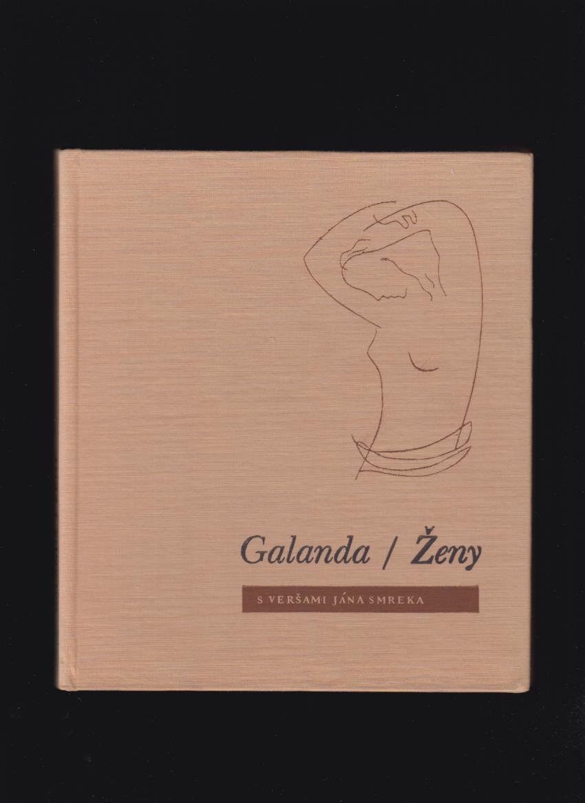Poezia Mikulas Galanda Zeny S Versami Jana Smreka Antikvariat