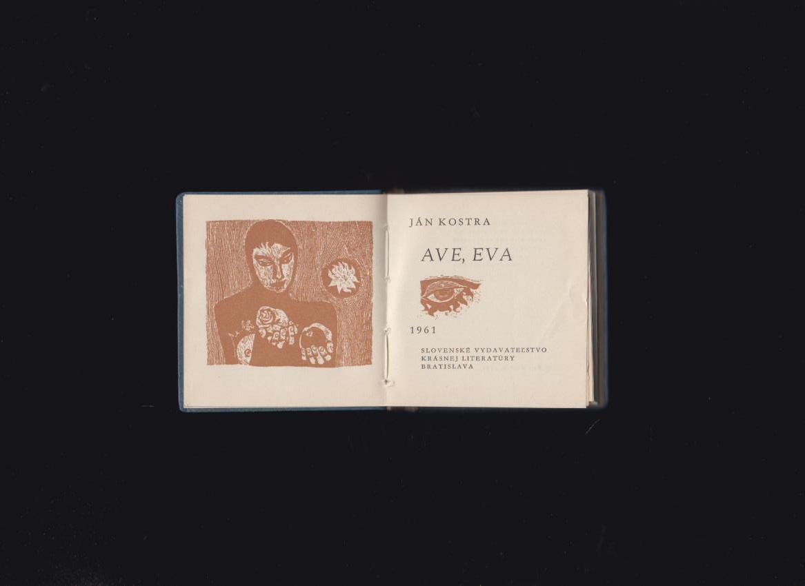 3be8390bb Poézia | Ján Kostra: Ave Eva /il. Albín Brunovský/ | Antikvariát ...